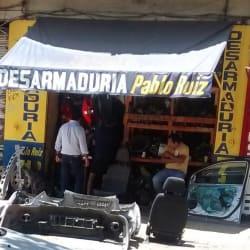 Desarmaduria Pablo Ruiz en Santiago