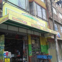 Autoservicio Merque Max en Bogotá