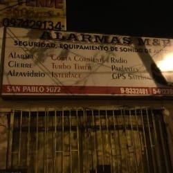 Alarmas M&E en Santiago