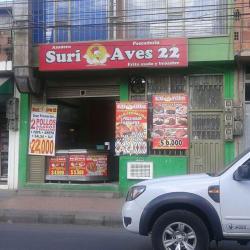 Asadero Suri Aves la 22 en Bogotá