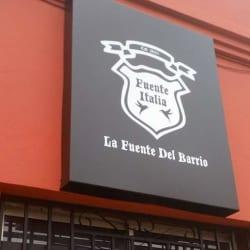 Fuente Italia Restaurante en Santiago