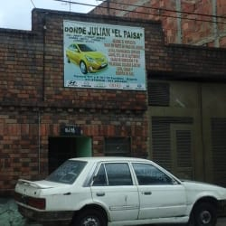 "Donde Julian ""El Paisa"" en Bogotá"