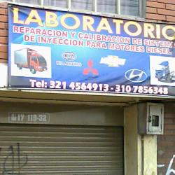 Laboratorio automotriz en Bogotá