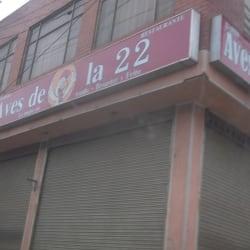 Aves De La 22 Restaurante en Bogotá