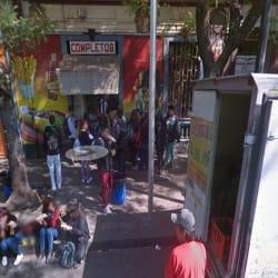 Completos Toesca en Santiago
