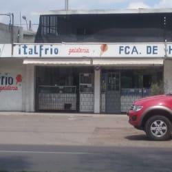 Italfrio Gelateria en Santiago