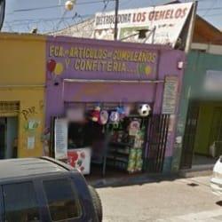 Fca. de Artículos de cumpleaños y confitería en Santiago