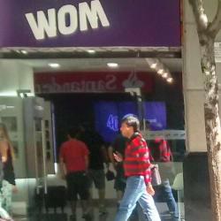 Wom - Estado en Santiago