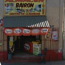 Almacén Bairon en Santiago