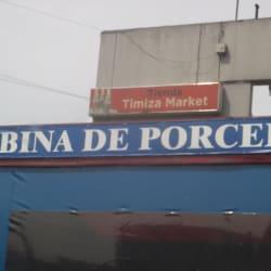 Cabina de Porcelanato en Bogotá