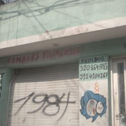Tamales Tolimenses Calle 74 en Bogotá