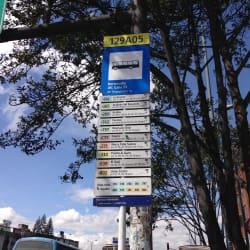Paradero SITP Barrio Normandía Avenida Calle 53 - 129A05 en Bogotá