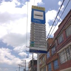 Paradero SITP Carrera 111C X Calle 70B - 256A05 en Bogotá