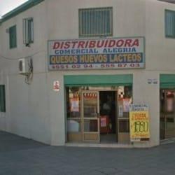Distribuidora Comercial Alegría Queso y Lácteos en Santiago