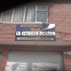 Adornos La Estrella Dorada en Bogotá