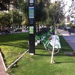 Bici Las Condes - Alonso de Camargo / Sebastián Elcano en Santiago