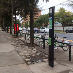 Bici Las Condes - Isabel La Católica / Carlos V en Santiago