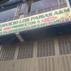 Autoservicio Los Paisas J&M en Bogotá