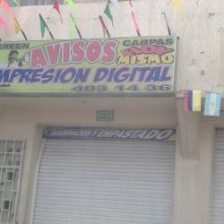 Avisos Screen en Bogotá