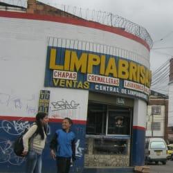 Limpiabrisas en Bogotá