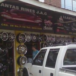 Llantas y Rines JAC en Bogotá