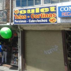 Outlet Telas Cortinas en Bogotá