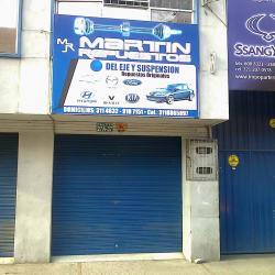 Martin Repuestos 8 en Bogotá