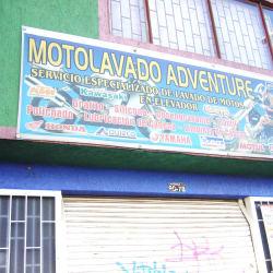 Moto Lavado Adventure en Bogotá