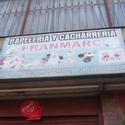 Papelería y Cacharrería Franmarc en Bogotá