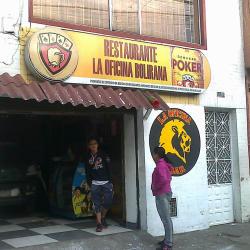 Restaurante La Oficina Bolirana en Bogotá