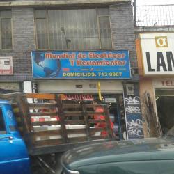 Mundial de Eléctricos y Herramientas en Bogotá