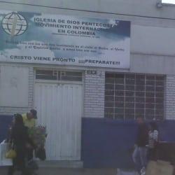 Iglesia de Dios Pentecostal Movimiento Internacional en Bogotá