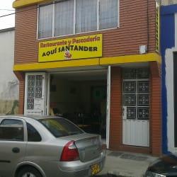 Restaurante y Pescaderia Aquí Santander en Bogotá