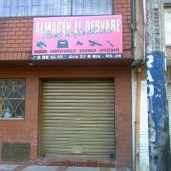 Almacén el Desvare en Bogotá