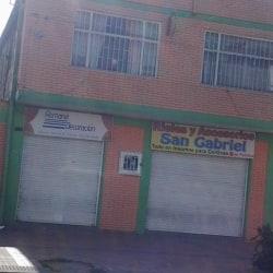 Rieles y Accesorios San Gabriel en Bogotá