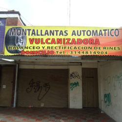 Montallantas Automatico Vulcanizadora en Bogotá