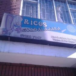 Ricos Guadalajara en Bogotá