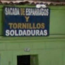 Sacada de Esparragos y Tornillos Soldaduras en Bogotá