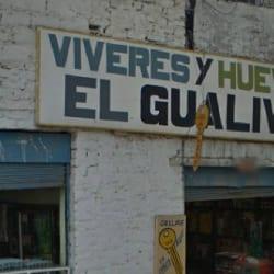 Víveres y Huevos El Gualiva en Bogotá