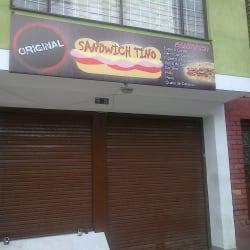 Sandwich Tino en Bogotá