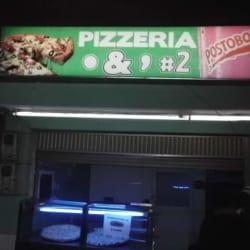 Pizzería  & #  2 en Bogotá