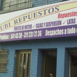 Rubirepuestos en Bogotá