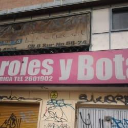 Overoles y Botas en Bogotá