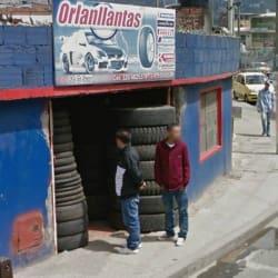 Orlanllantas en Bogotá