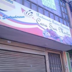 Restaurante Casa San Martín en Bogotá