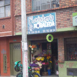 Floristería Robaleda en Bogotá