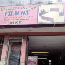 Muebles y Diseños Chacón en Bogotá