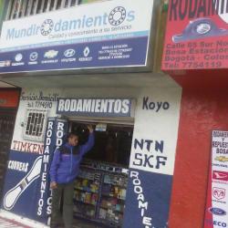 Mundirodamientos en Bogotá