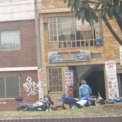 Katerin Motos en Bogotá