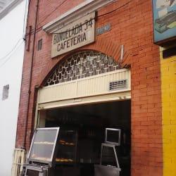 Buñuelada 34 cafeteria en Bogotá